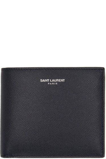 Saint Laurent - Navy East/West Wallet