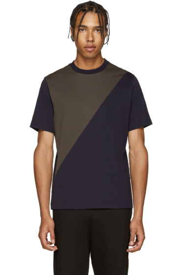 PS by Paul Smith - Navy & Khaki T-Shirt
