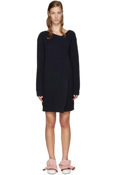 MSGM - Navy Knit Dress