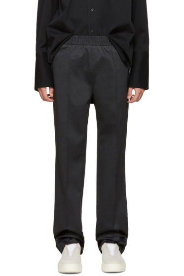 MSGM - Grey Check Trousers