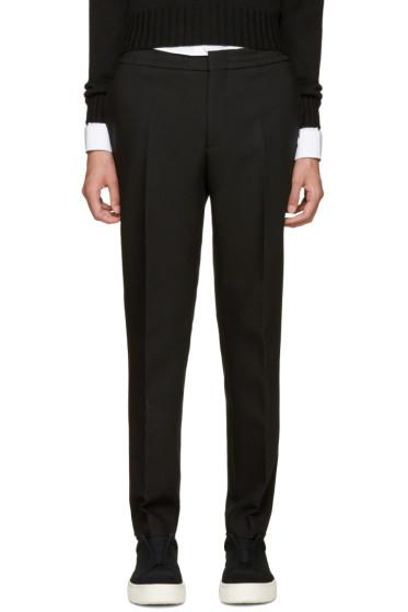 MSGM - Black Slim Trousers