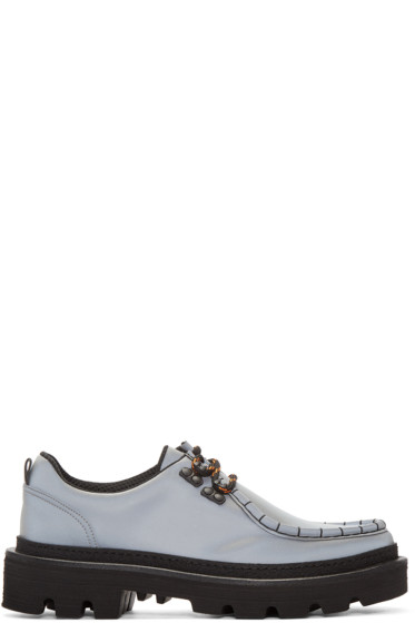 MSGM - Grey MS Crepe Shoes