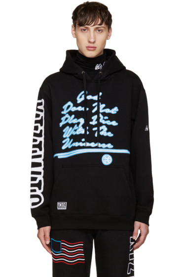 KTZ - Black 'God Does Not Play Dice' Hoodie