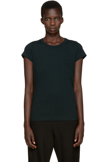 Sacai - Green Babydoll T-Shirt