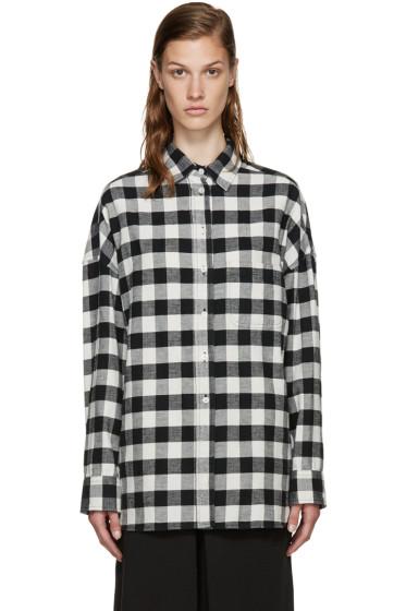 6397 - White Flannel Buffalo Check Lori Shirt