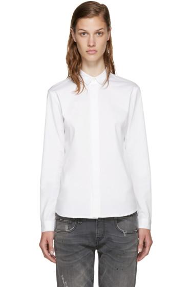 6397 - White Poplin Shirt