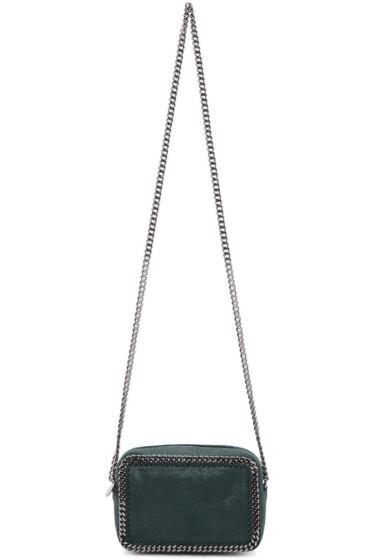 Stella McCartney - Green Falabella Crossbody Clutch Bag