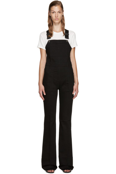 Stella McCartney - Black Denim Overalls