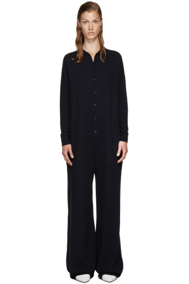 Stella McCartney - Navy Wool Jumpsuit