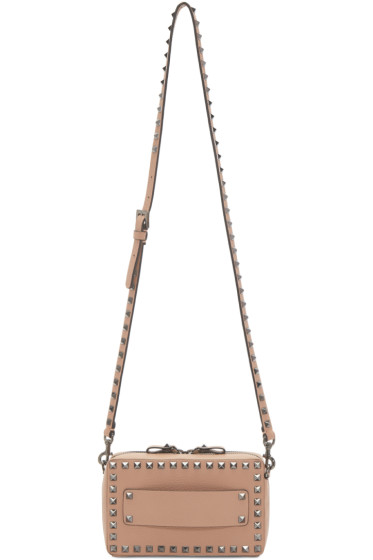Valentino - Pink Rockstud East West Bag