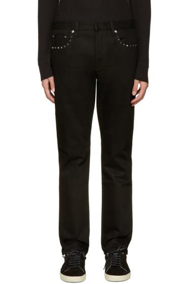 Valentino - Black Rockstud Jeans