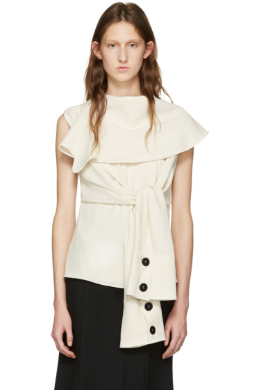 J.W.Anderson - Off-White Deconstructed Top