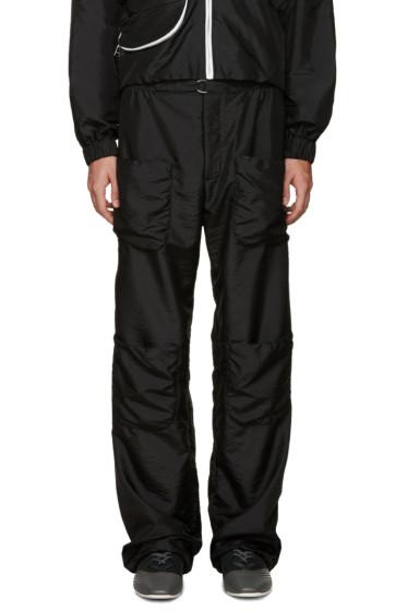 J.W.Anderson - Black Multi Pocket Trousers