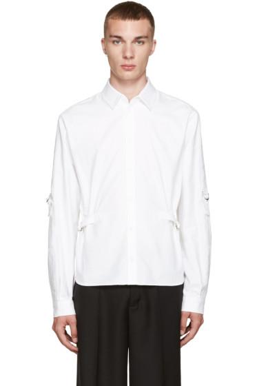 J.W.Anderson - White Strap Shirt