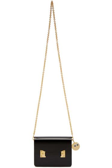 Sophie Hulme - Black Perspex Compton Envelope Bag