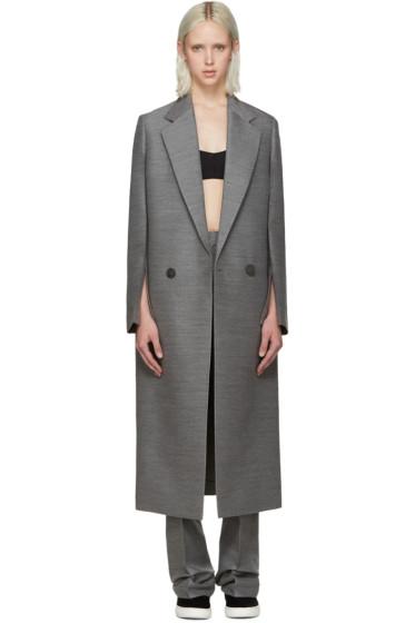 Calvin Klein Collection - Grey Tailored Coat