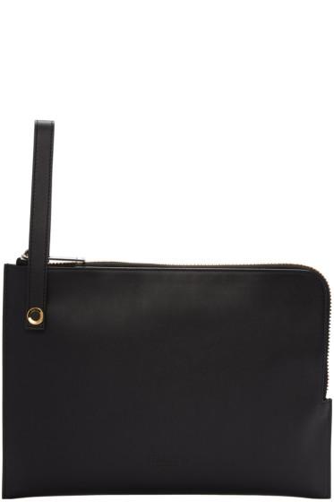 Calvin Klein Collection - Black Large Portfolio Pouch