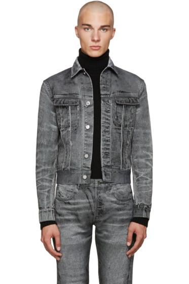 Calvin Klein Collection - Grey Denim London Jacket