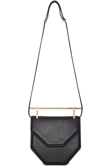 M2Malletier - Black Leather Amor Fati Shoulder Bag
