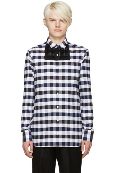 Kolor - Navy & Black Check Shirt