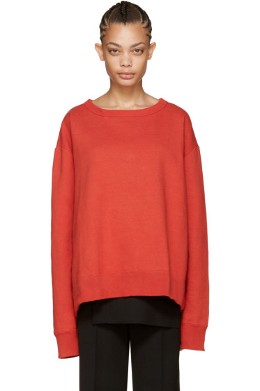 Facetasm - Red Crewneck Sweatshirt
