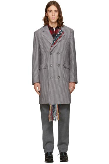 Facetasm - Grey Long Coat