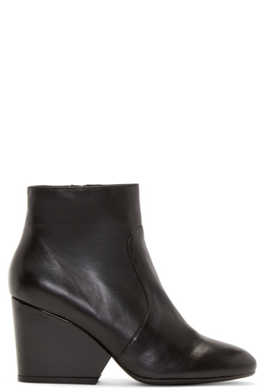 Robert Clergerie - Black Leather Toots Boots