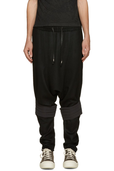 D.Gnak by Kang.D - Black Sarouel Lounge Pants