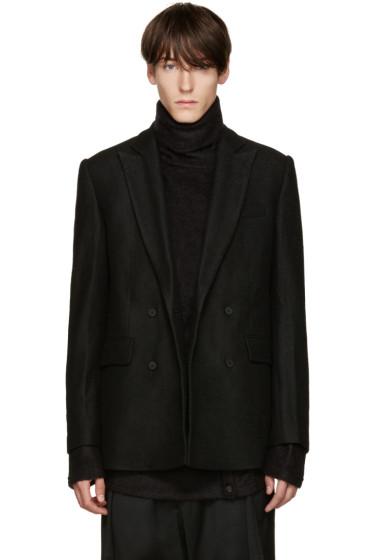 D.Gnak by Kang.D - Black Wool Blazer