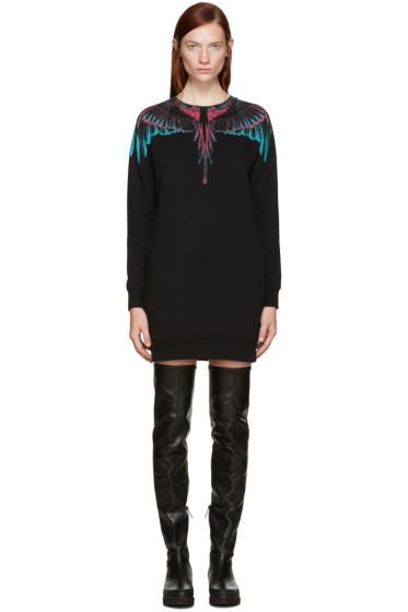 Marcelo Burlon County of Milan - Black Orely Pullover Dress