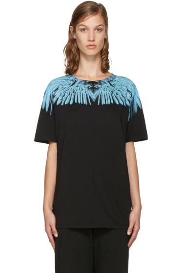 Marcelo Burlon County of Milan - Black Paloma T-Shirt