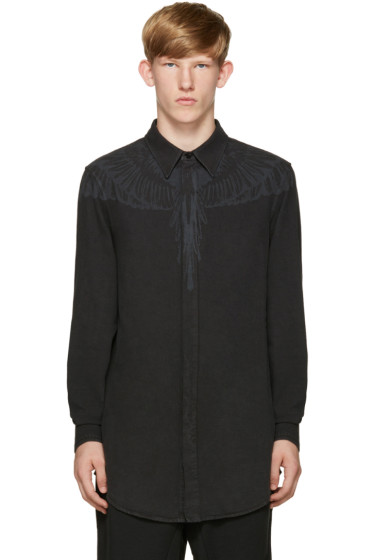 Marcelo Burlon County of Milan - Black Hoyada Shirt