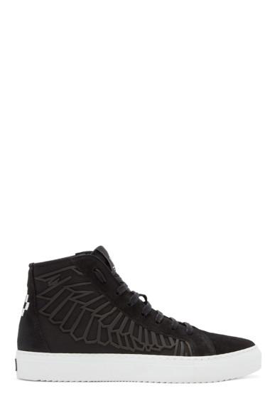 Marcelo Burlon County of Milan - Black Maipu High-Top Sneakers