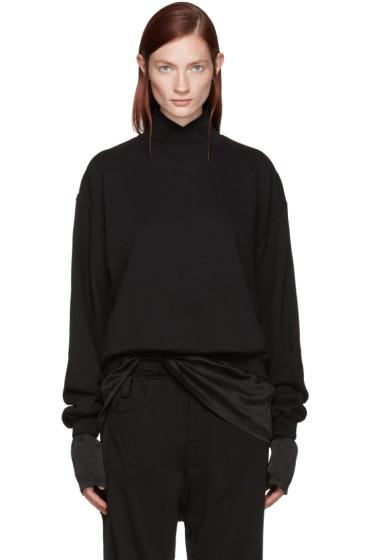 Haider Ackermann - Black Layered Pullover