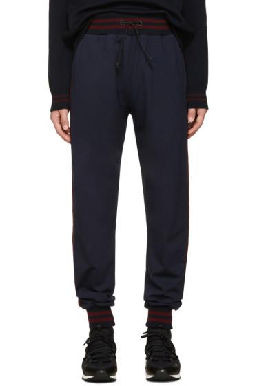 Giuliano Fujiwara - Navy Striped Lounge Pants
