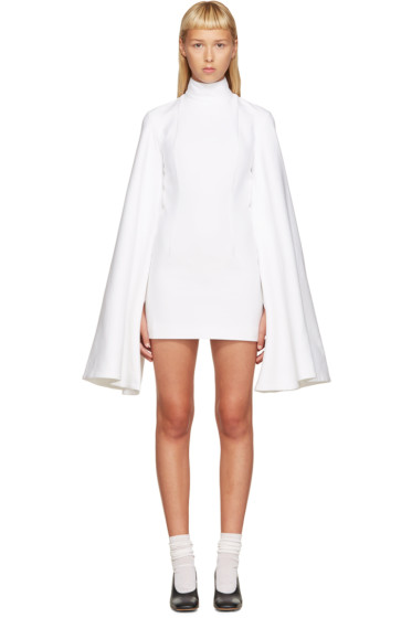 Jacquemus - White Flared Sleeve Dress