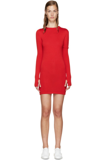 Jacquemus - Red Knit Dress