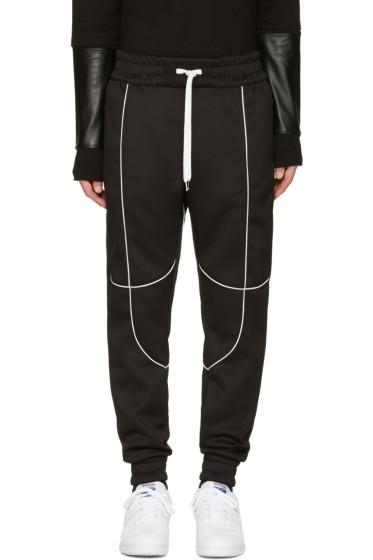 Pyer Moss - Black Flex Lounge Pants
