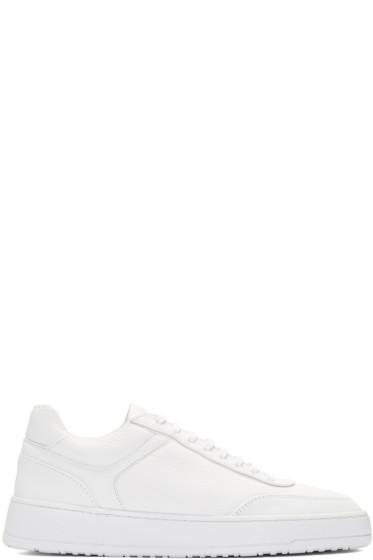 ETQ Amsterdam - White Low 5 Sneakers