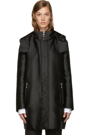 Moncler Gamme Rouge - Black Down Marrube Duchesse Parka
