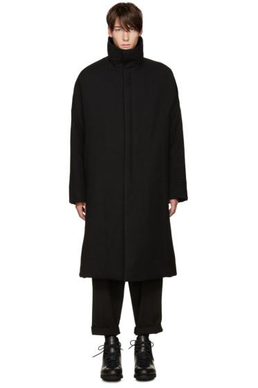 Yohji Yamamoto - Black Padded Coat