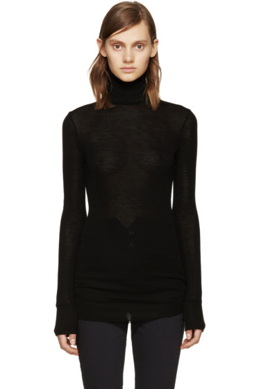 Isabel Marant Etoile - Black Wool Joey Turtleneck