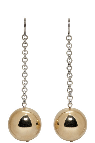 Isabel Marant - Gold & Silver Blind Earrings