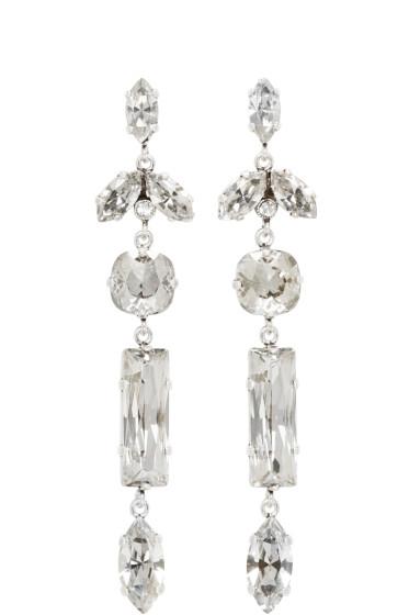 Isabel Marant - Silver Mirror Earrings