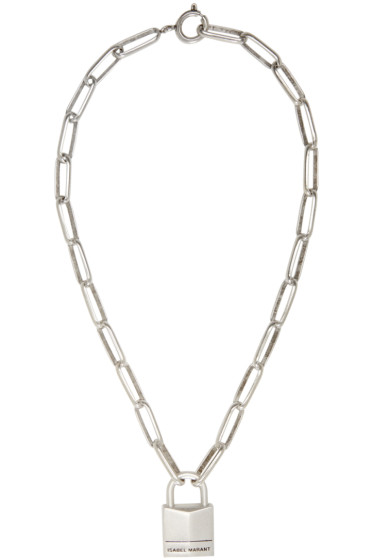 Isabel Marant - Silver Knock Knock Necklace