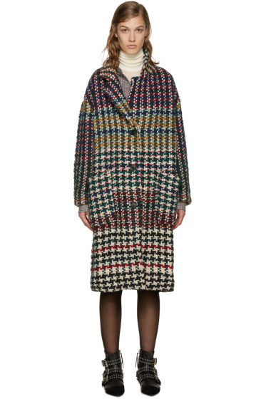 Isabel Marant - Multicolor Dallas Coat