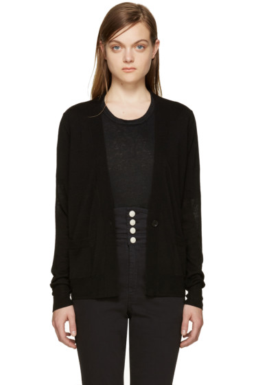 Isabel Marant - Black Merino Abilay Cardigan