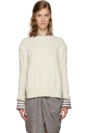 Isabel Marant - Ecru Gayle Sweater