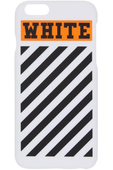 Off-White - White & Orange Box iPhone 6 Case