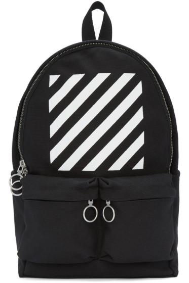 Off-White - Black Diagonals Backpack